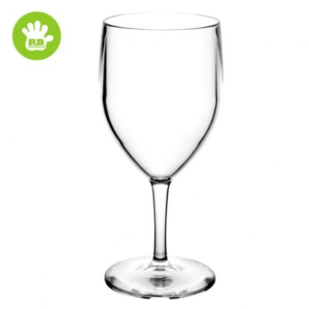 Unzerbrechliche Weingläser in polycarbonat 25 Cl