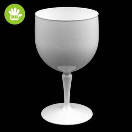 Unzerbrechliche Cocktailgläser in polycarbonat Weiss 60 Cl