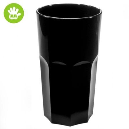 Unzerbrechliche kaffeetassen in polycarbonat schwarz 33 Cl