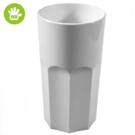 Unzerbrechliche kaffeetassen in polycarbonat weiss 33 Cl