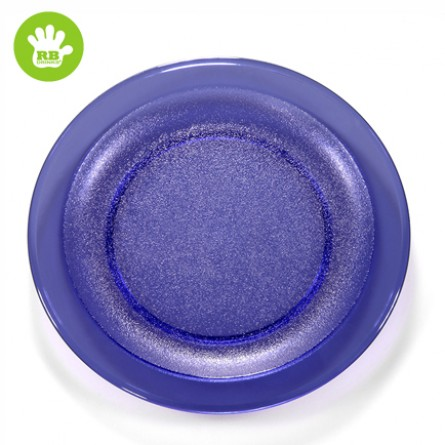 Unzerbrechlich Platte Blau 24 cm
