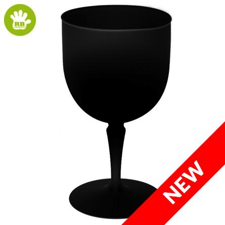 Unzerbrechliche Cocktailgläser in polycarbonat Schwarz 40 Cl