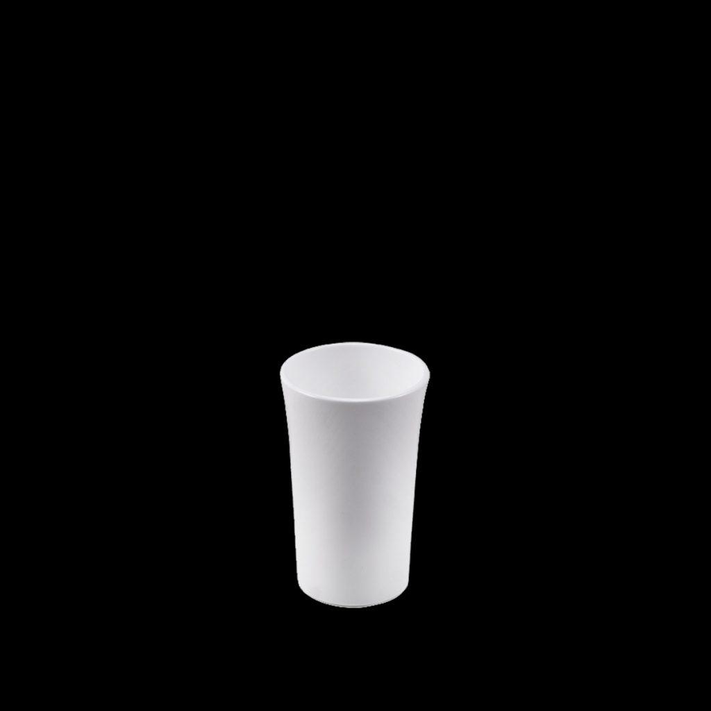 Brudsikre shotglas 4 cl hvid