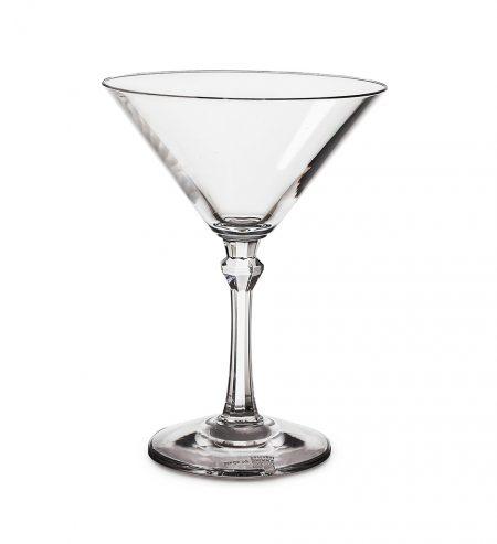 Unzerbrechliche Martinigläser aus Kunststoff (Polycarbonat) 20 cl