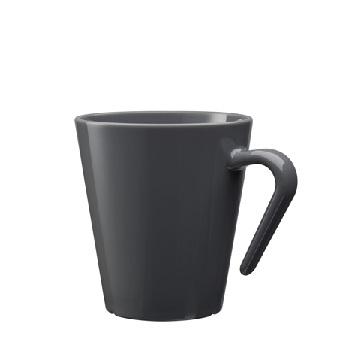 Unzerbrechliche Kaffeetassen mit Henkel aus Kunststoff (Polycarbonat) 27 cl