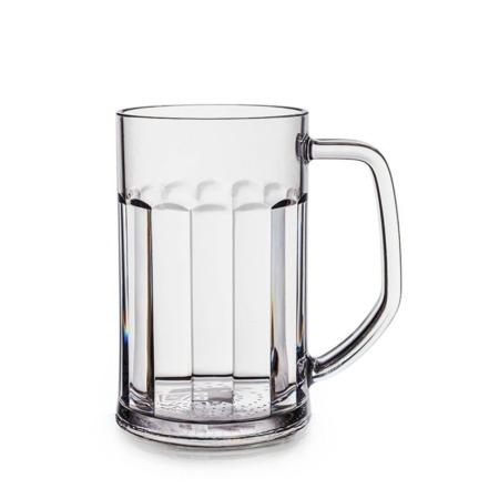 Unzerbrechliche Biergläser aus Kunststoff (Polycarbonat) 35 cl